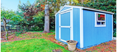 4 Creative Ideas for Painting Your Garden Shed