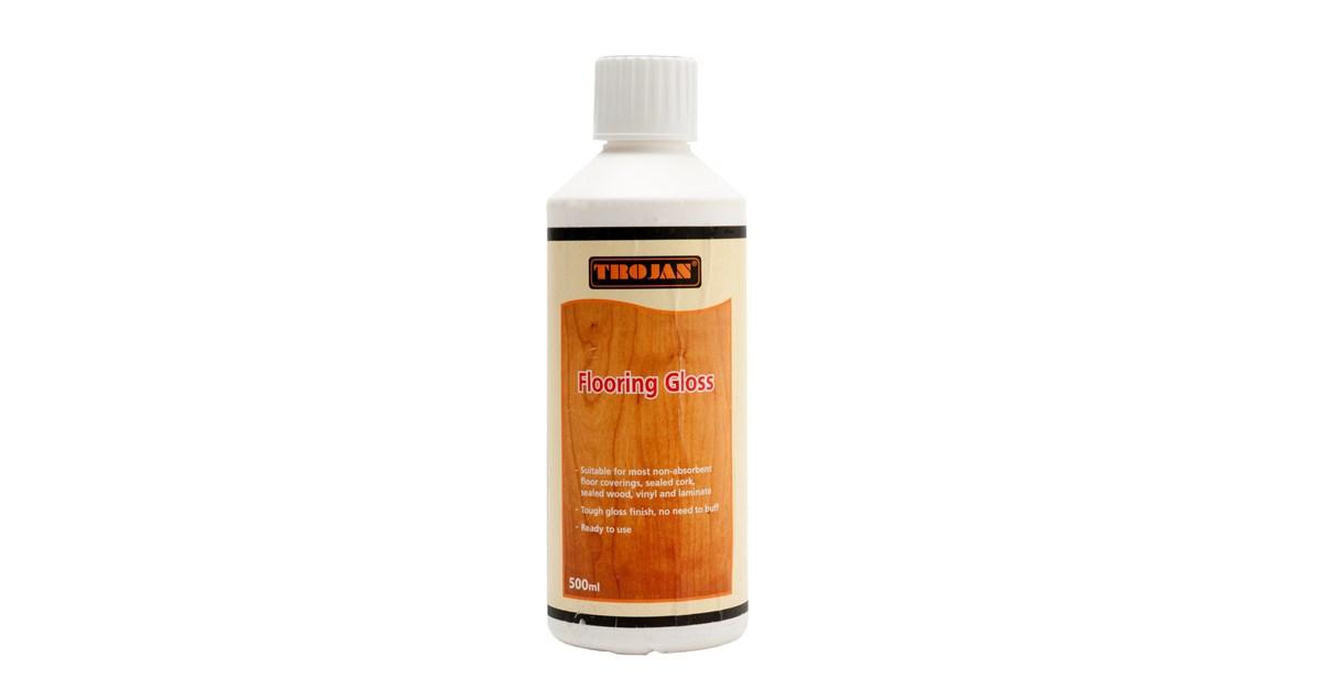 Trojan Floor Gloss - 500ml | Floor Cleaning Products | W J  Sloan