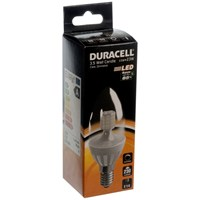 Duracell  LED Clear Candle Light Bulb - 3.5W SES