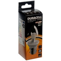 Duracell  LED Clear Candle Light Bulb - 3.5W BC