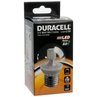 Duracell  LED Clear Mini Globe Light Bulb - 3.5W ES