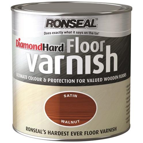 Ronseal Diamond Hard Floor Varnish Gloss 2 5 Litre Stains