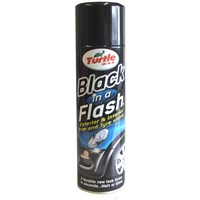 Turtle Wax Black in a Flash Trim & Tyre Shine - 500ml