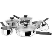 Judge  Vista Original Stainless Steel Saucepan Set - 5 Piece