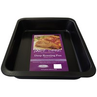 Just Cook  Deep Roasting Pan - 33cm