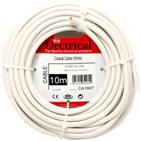 Best Electrical  Coaxial Cable 75Ohm - White