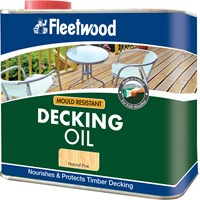 Fleetwood Gardencare Decking Oil - 2.5 Litre