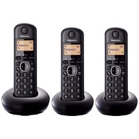 Panasonic  Triple Cordless Portable Phone - KX-TGB213
