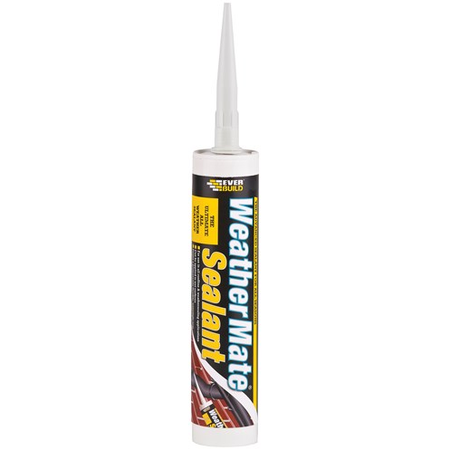 Everbuild  Weather Mate Sealant 310ml - White