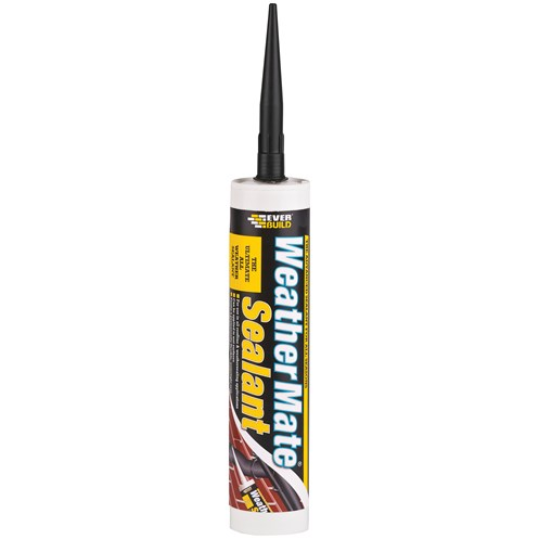 Everbuild  Weather Mate Sealant 310ml - Black