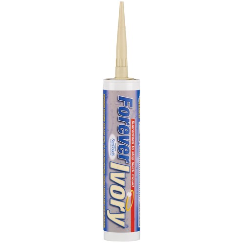 Everbuild Forever Ivory Silicone Sealant - 310ml