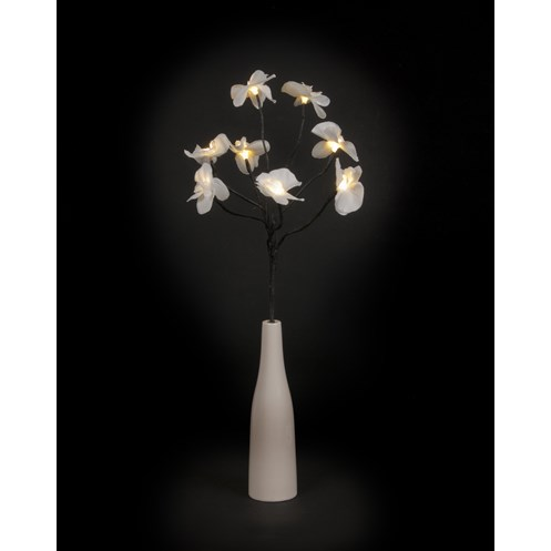 Snowtime  Battery Operated Orchid Branch - 50cm