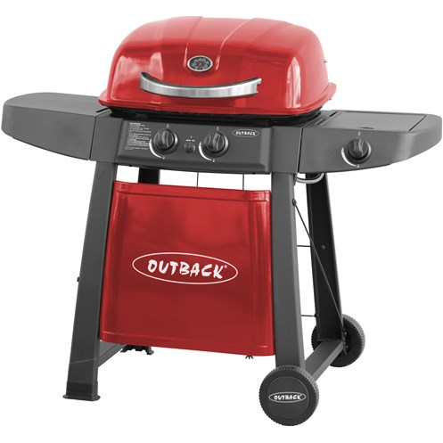 Outback  Amigo 300 Gas BBQ - Red