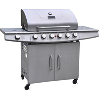 Courtyard  6 Burner Stainless Steel Gas BBQ