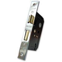 Basta  2 Lever Lock Polished Chrome - 63mm