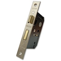 Basta  2 Lever Lock - Satin Nickel