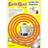 Easi Gas  Jumbo Gas Regulator Kit