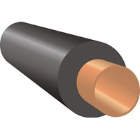 Economiser  AeroFlex Unslit Pipe Insulation - 1/2in x 1m