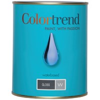 Colortrend  Gloss Pure Brilliant White Paint - 1 Litre