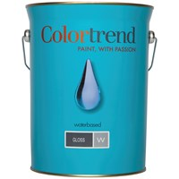 Colortrend  Gloss Pure Brilliant White Paint - 5 Litre