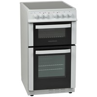 NordMende  White Freestanding Electric Cooker 50cm - CTEC50WH