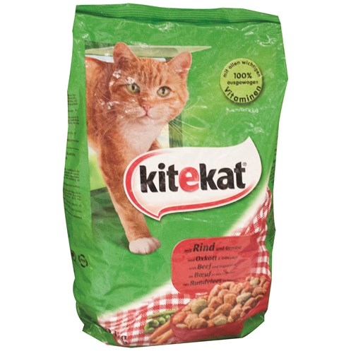 Kitekat  2kg Dry Cat Food - Beef & Lamb