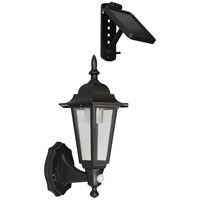 Elro  LED Solar Wall Light with Movement Detector - 2 Piece Lantern Style