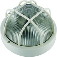 Elro  Bulkhead Light Round - White